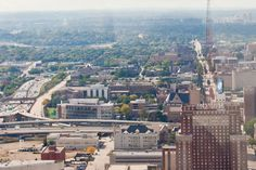 View of Marquette from the U.S. Bank building