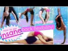Flexibility Stretch Exercises Workout for Scorpion & Back Bends For Ballet, Dance & Cheerleading - YouTube