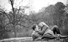 Engagement Photos in Atlanta at Piedmont Park, Atlanta, GA, photographed in March by Slava Slavik Photography