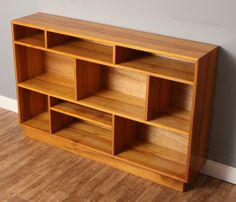 Stylish Asymmetric Solid Pine Bookcase/Shelving Unit TV Stand/Entertainment/Toy