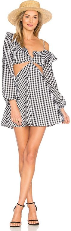 We love gingham and cut outs.