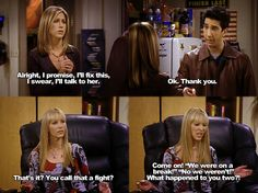 Shared by Find images and videos about funny, quotes and friends on We Heart It - the app to get lost in what you love. Serie Friends, Friends Moments, Friends Tv Show, Friends Forever, Friends Season, 3 Friends, Best Tv Shows, Best Shows Ever, Favorite Tv Shows