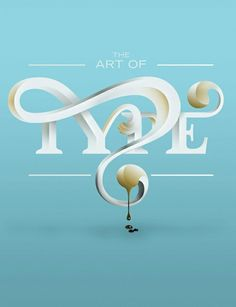 30 Gorgeous Illustrations Based Only On Typography | Top Design Magazine - Web Design and Digital Content
