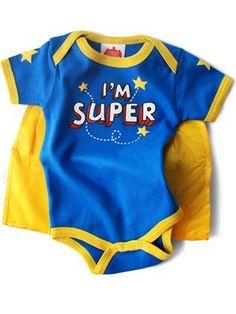 """""""i'm Super"""" Super Snapsuit™..adorable!"""