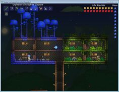 Truffle and Witch Doctor (Terraria) Not my screenshot but I love the juxtaposition of these two very different biomes/npcs