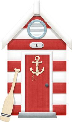 Фото, автор marjana.schehovtsova на Яндекс.Фотках Nautical Clipart, Beach Clipart, Decoupage, Diy And Crafts, Paper Crafts, Nautical Party, Ceramic Houses, Sea Theme, Am Meer