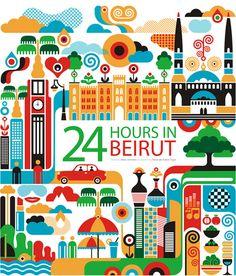 24 hours in Beirut, Fernando Volken Togni ☛ www.surus.org