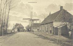 Oude molen van Leemans.    Vriezenveen. tegenover de Molenstraat