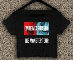 Eminem+x+Rihanna+T-Shirt+Monster+Tour+Crop+Top+Eminem+x+Rihanna+Crop+Tee+ER02