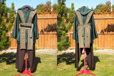 Homemade version - The satiny fabric is probably sweat city, but the belt would be easily reproducible.
