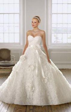 20 Elegant Strapless Wedding Dresses by markovski.aleksandar