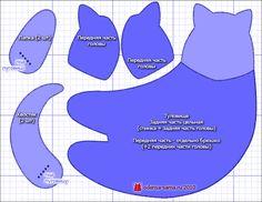 Tilda cat pattern