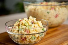 #Vegan Classic Macaroni Salad