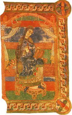 Sainte Radegonde, wife of Clothaire I.