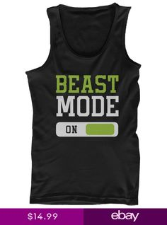 Beast Mode Mens Workout Tanktop Work Out Tank Top Fitness Clothing Gym Shirt 1aec8af22a1