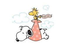 SNOOPY & WOODSTOCK~baby delivery
