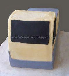 How to make a fire truck cake {Tutorial} Fireman Sam Birthday Cake, Fireman Sam Cake, 3rd Birthday Cakes, Birthday Ideas, Fire Engine Cake, Truck Cakes, How To Make Fire, Cake Tutorial, Fire Trucks