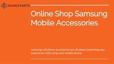 #Samsungcell #phone_accessories are all about improving your experience with using your #mobile phone. According to Samsung accessories store provider Mobile phones facilitate excellent contact over distance. With the coming of mobile phones, the usage of call boxes has come down.  While call...