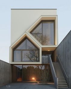 Image in Homes styles 🏡 collection by Zoé on We Heart It Architecture Visualization, Facade Architecture, Residential Architecture, Amazing Architecture, Architecture Journal, Classic Architecture, Small House Design, Modern House Design, Contemporary Design