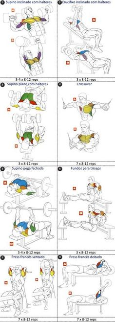 FST-7 peitoral e tríceps