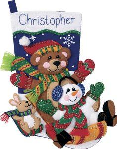 20 Christmas Stockings to Sew
