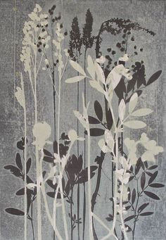 Meadow monotype by Stef Mitchell