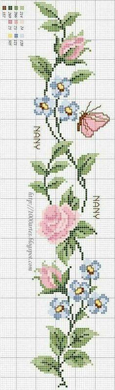Flores no Jardim (Flowers in the Garden) - Lee Albrecht: Free blackwork pattern