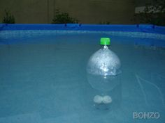 Plastic Bottle Floating Chlorinator