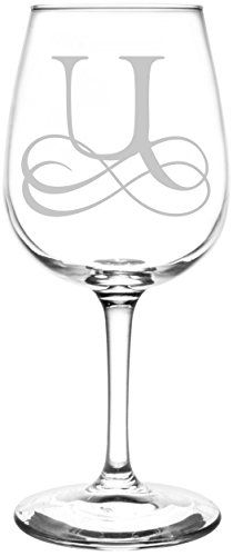 (Monogrammed N) Vintage Double Infinity Symbol Wedding Monogram Gift Inspired - Laser Engraved Libbey All-Purpose Wine Taster Glass Wine Glass Crafts, Glass Engraving, Engraving Ideas, Silhouette Curio, Silhouette Cutter, Painted Wine Glasses, Infinity Symbol, Monogram Gifts, Monogram Letters