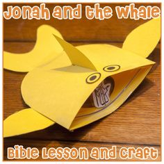 Bible Lesson: Jonah and the Whale + Craft Tutorial |