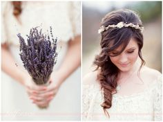 #lavender #flower #crown
