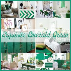 Exquisite Emerald Green  An exploration of Pantone's Color of the Year