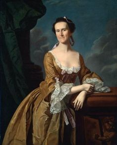 Mrs. John Amory (Katherine Greene) by John Singleton Copley 1763