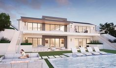 Render of the week | All these gloomy clouds have us wishing for pool ready weather!