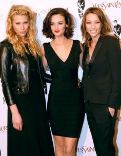 Marie de Villepin, Charlotte Le Bon et Laura Smet: FN, TR and prob another FN