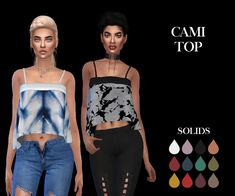 Cami Top – Leosims.com -New