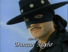 You may remember Duncan Regehr as the swashbuckling hero Zorro from his days on the Family Channel's New World Zorro TV series in the early 1990s. But you may not know that Duncan Regehr is a world reknowned artist, poet and writer who has works in many of the finest museums and collections around the world.     Duncan Regher Art, Zorro