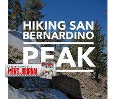Hiking San Bernardino Peak via Angelus Oaks - 16.5 miles - ~9 hours