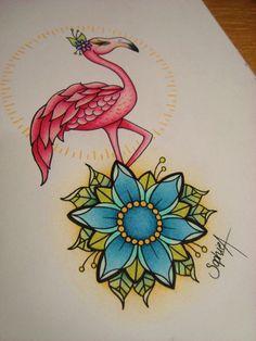 flamingo! very pretty