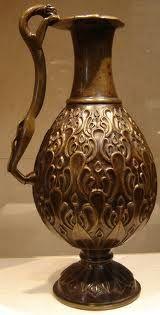 Ancient Persian jug.