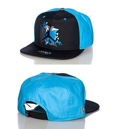 10703a22dea82 JORDAN Graphic logo snapback cap Adjustable strap on back Embroidered JORDAN  jumpman logo on front.