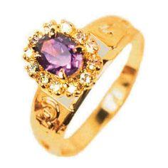 Anel de Formatura todo em Ouro 18K 0750 http://www.luxjoias.com/anel-de-formatura-ouro-18k-c-211_212.html