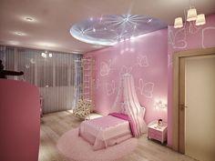 квартира в современном стиле, интерьер детской комнаты, комната для маленькой девочки, квартира в современном стиле