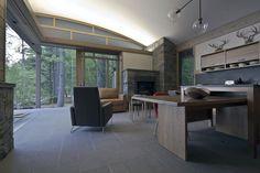 Sebago Cabins | Small Spaces Addiction