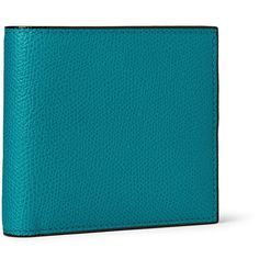 VALEXTRA Pebble-Grain Leather Billfold Wallet. #valextra #wallets