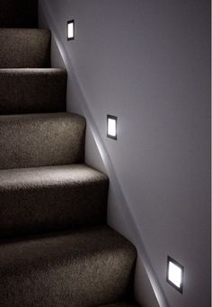 Unique lighting for the staircase