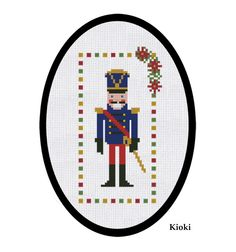 Cross Stitch Pattern The Nutcracker Instant by TinyNeedle on Etsy