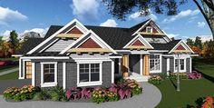 Craftsman Detailing - 890021AH   1st Floor Master Suite, CAD Available, Corner Lot, Craftsman, Northwest, PDF   Architectural Designs
