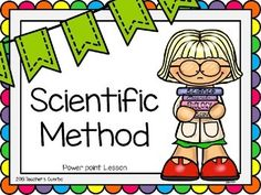 Guide your students through the process of the Scientific Method with this colorful and kid-friendly powerpoint. Slides provide definitions and examples of each step of the Scientific Method. Could be printed as handout sheets for students to keep for reference.Steps included in the Scientific Method Power Point:PurposeResearch/ObservationHypothesisExperiment (explains independent and dependent variables)AnalysisConclusion37 slides included