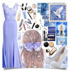 """""""Off To Neverland"""" by angelstylee ❤ liked on Polyvore featuring Waverly, LORAC, William Stafford, Lipsy, Borghese, Bobbi Brown Cosmetics, Sigma Beauty, Youngblood, MAC Cosmetics and Neutrogena"""